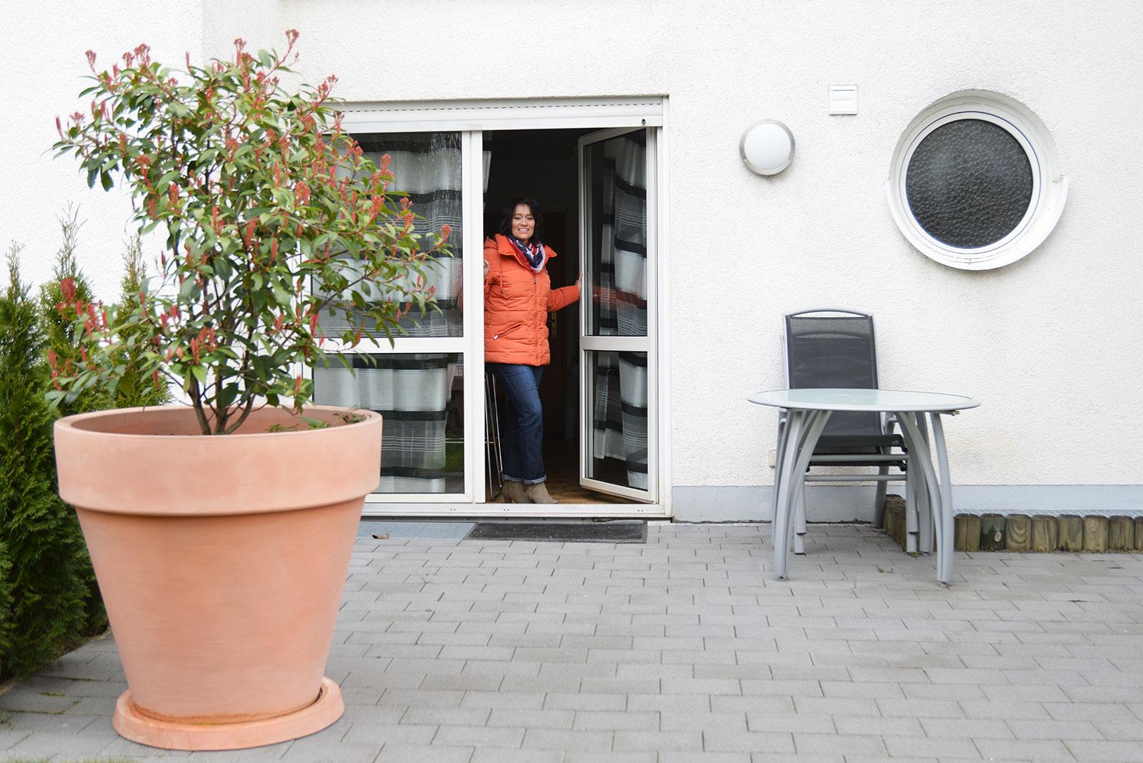 Die Tür zum Garten