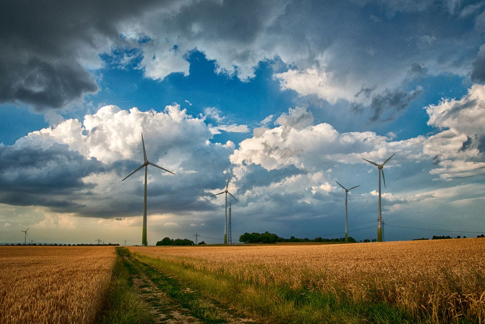 Die Windkraftanlagen von Ebersheim