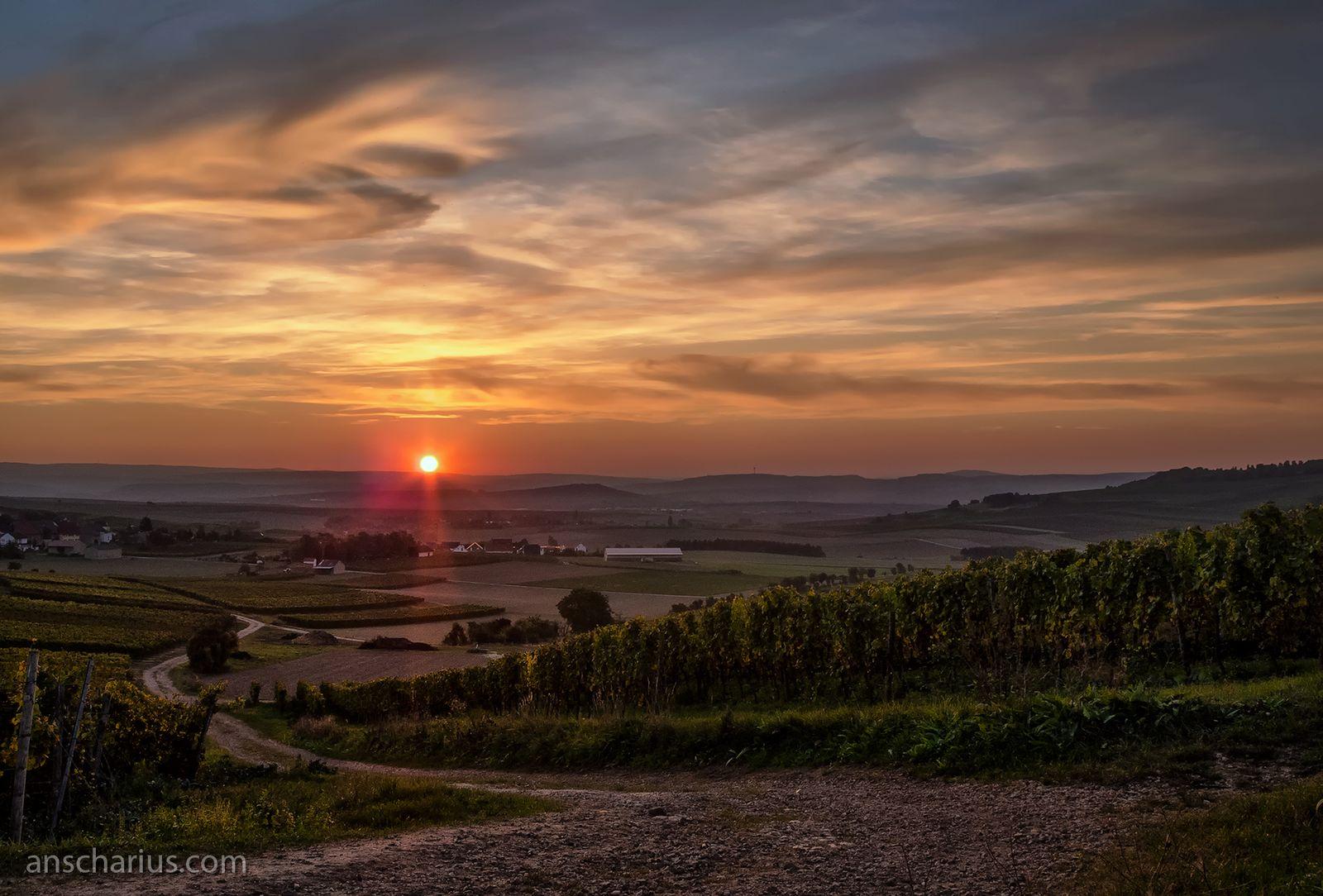 Abendstimmung in Wolfsheim