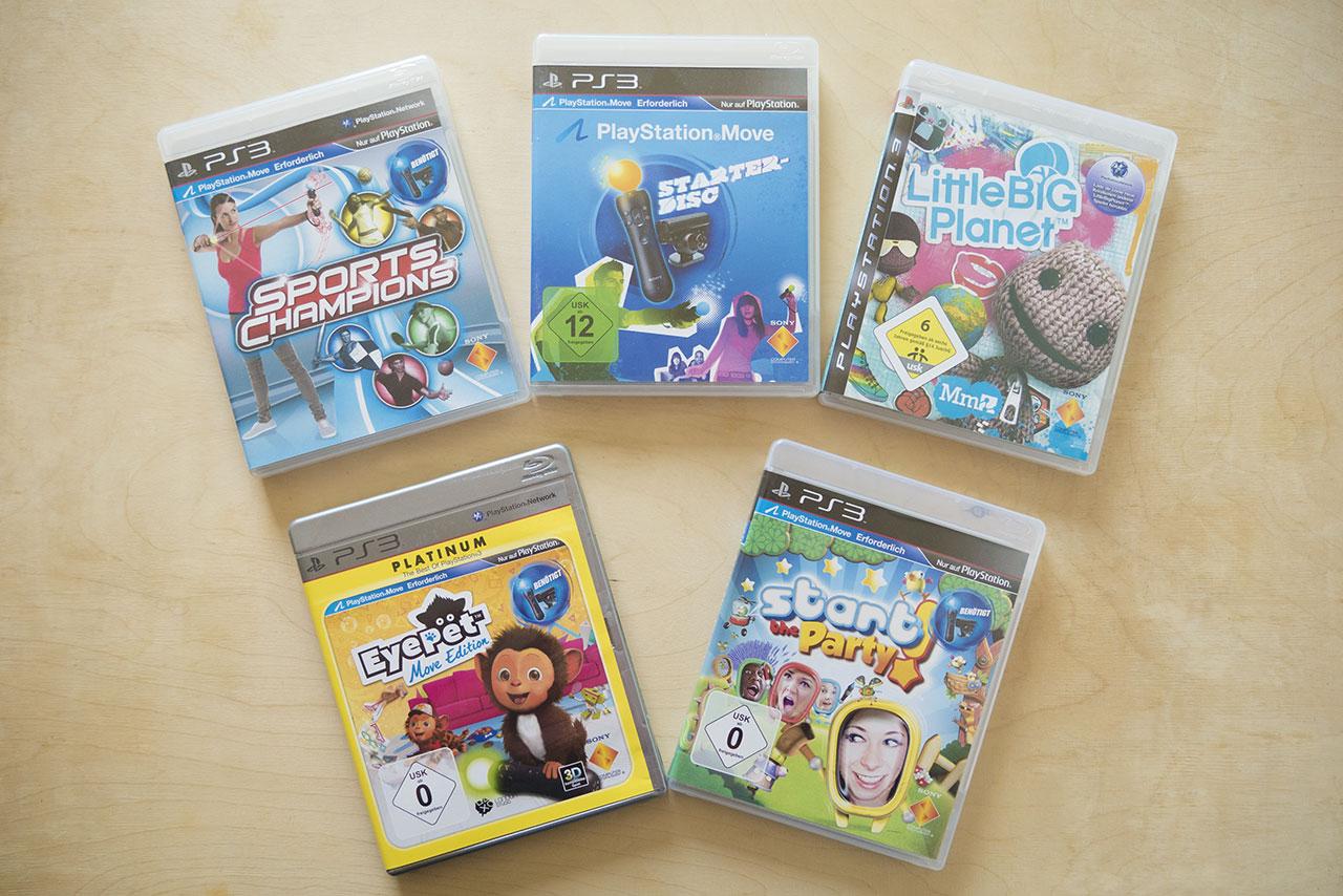 Spiele für Playstation MOVE
